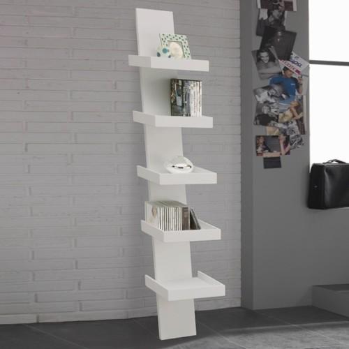 Step libreria da parete in legno economica 30 x 155 cm