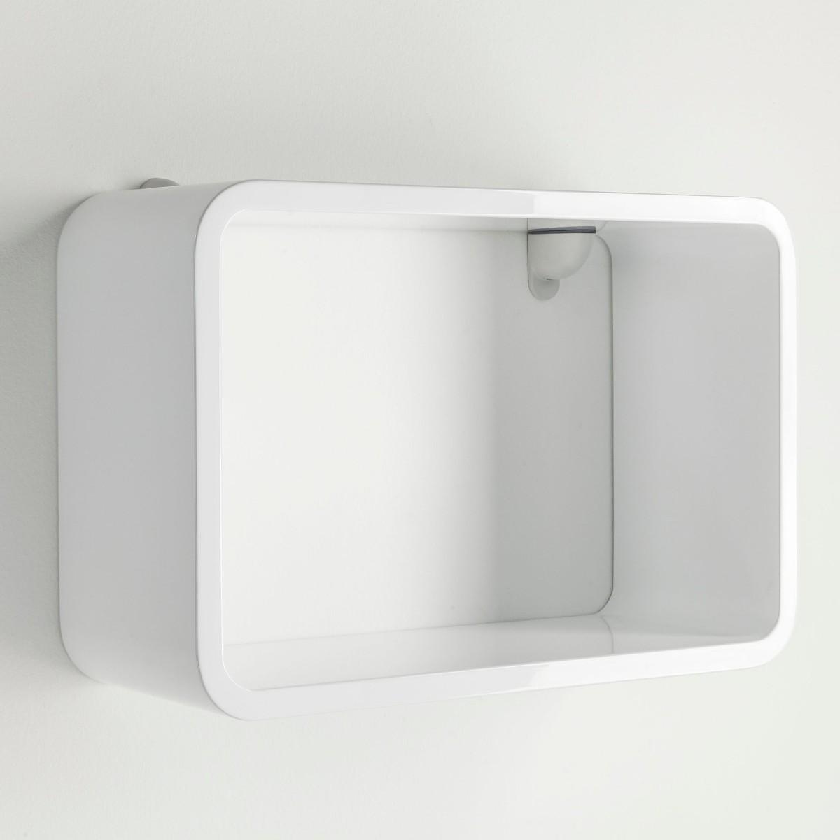 Set 3 cubi kuadra da parete mensole rettangolari per arredo for Arredamento mensole a parete