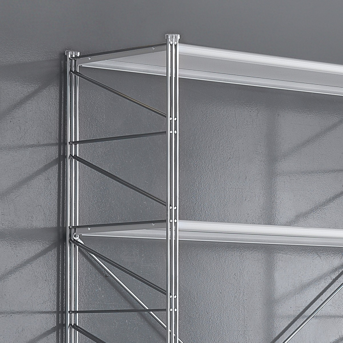 Kalevi scaffale componibile metallo per ufficio 293 x 35 x h200 cm