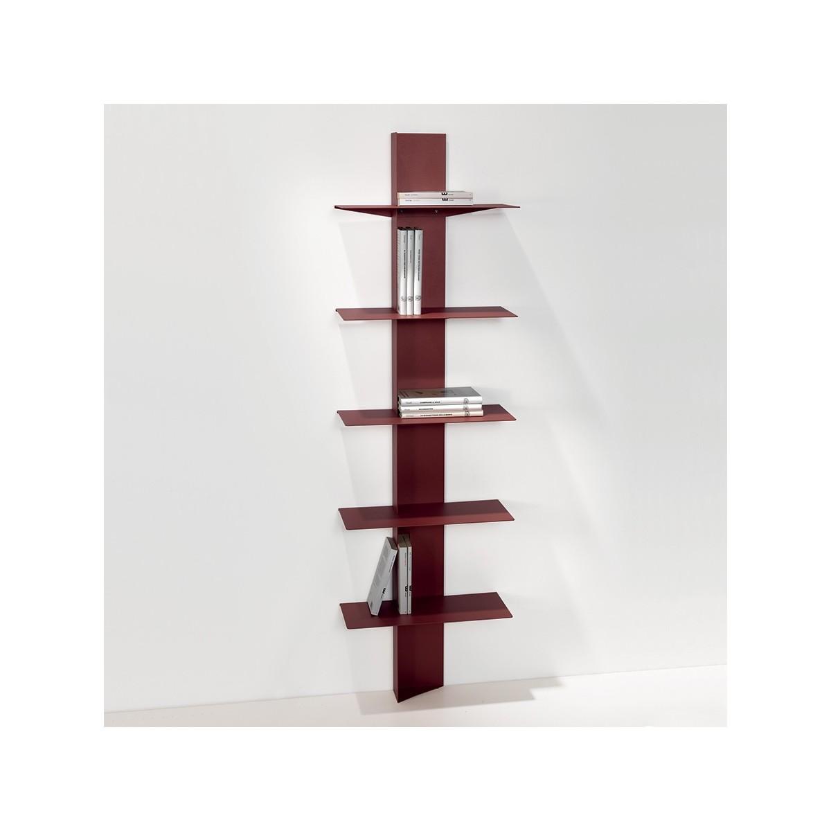 Lift libreria da parete in acciaio a colonna 45 x 160 cm