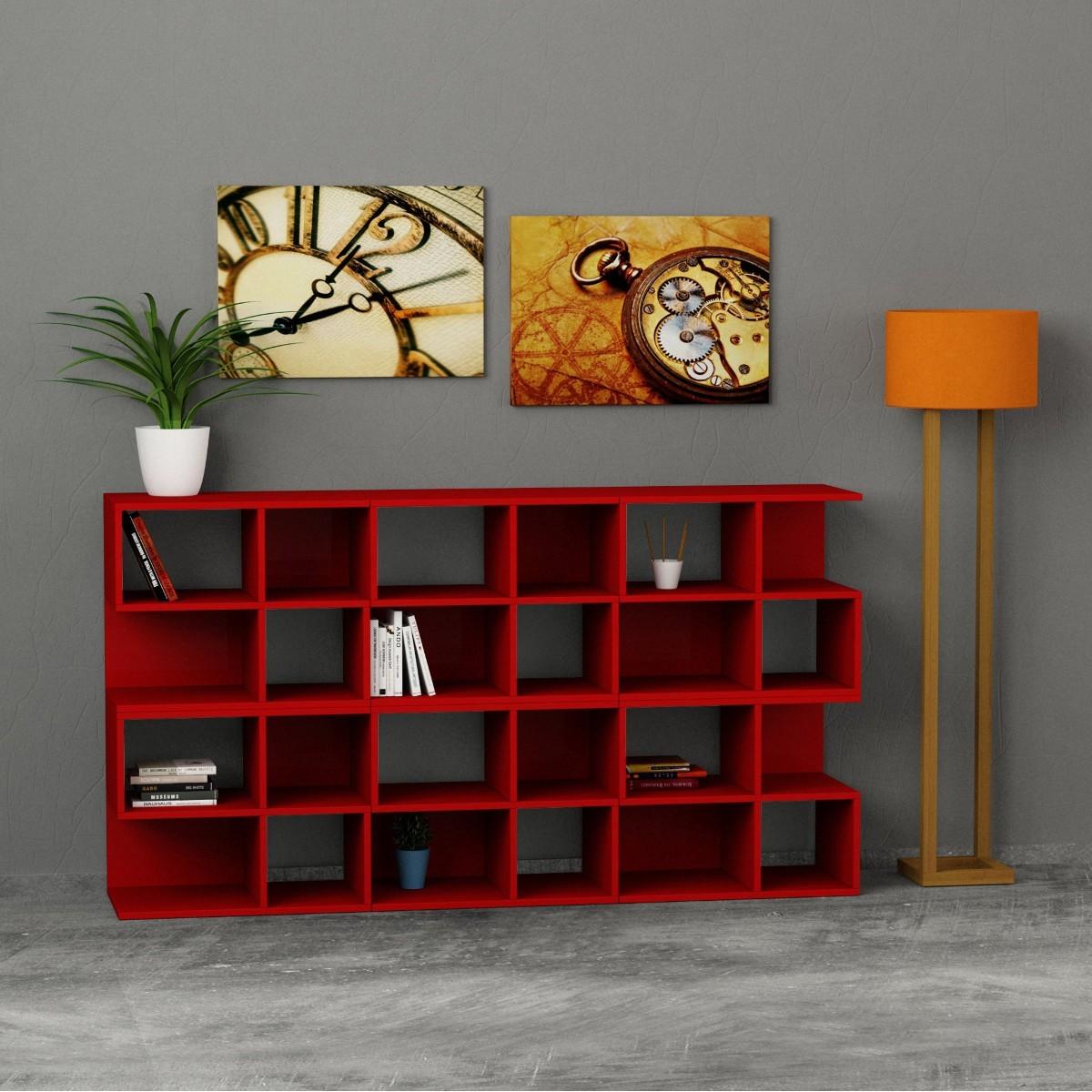 Premiere libreria da soggiorno in legno a forma di scala - Libreria parete design ...