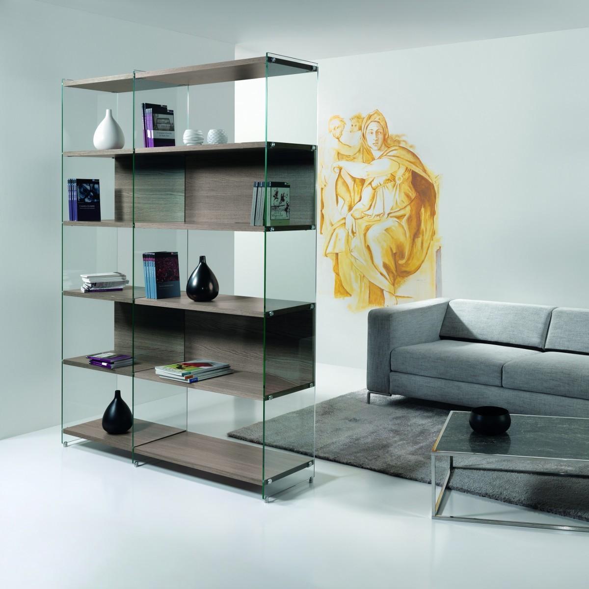 Beautiful Librerie Divisorie Soggiorno Ideas - Idee Arredamento Casa ...