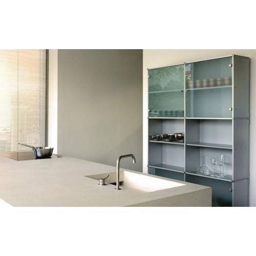 Dispensa da cucina moderna in metallo credenza design - Credenza per cucina moderna ...