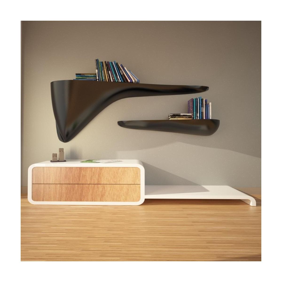 Mensole soggiorno design: mensole design moderno cloudy monchic.