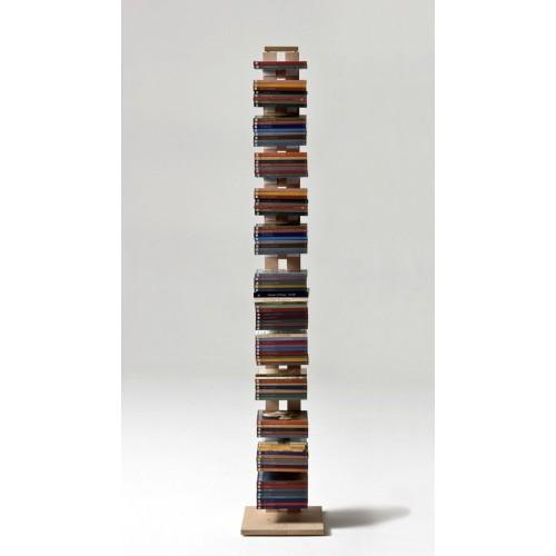Zia Ortensia libreria a colonna da terra in legno 200 cm