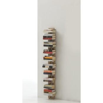 Zia Ortensia libreria da muro verticale in legno naturale 155 cm