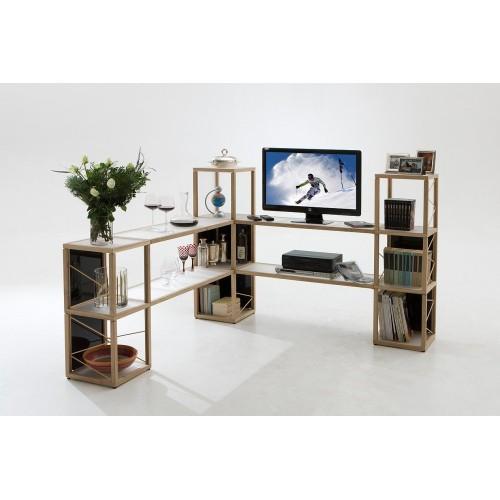Castelli 4 libreria scaffale per negozio in legno 165 x 100 cm