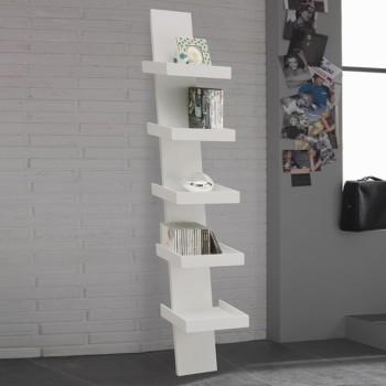 Climbing libreria da parete in legno economica 30 x 155 cm