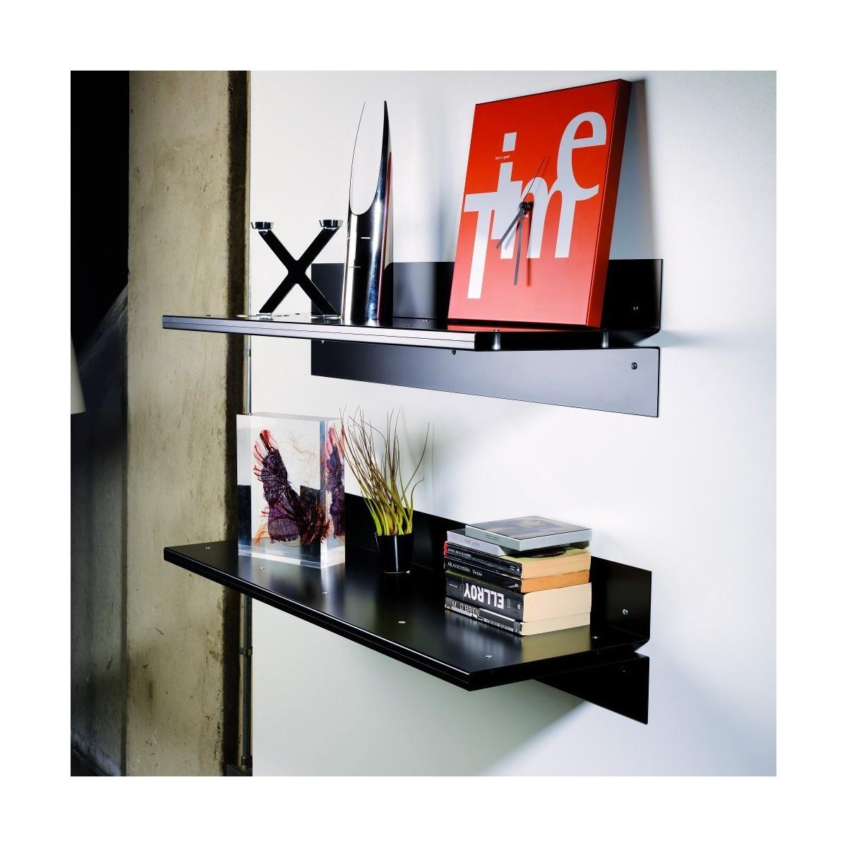Mensole moderne design in legno metallo o vetro componibili e ...