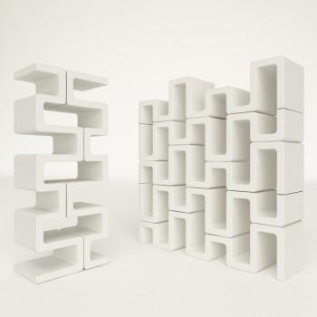 Libreria modulare componibile Sisma ZAD Italy