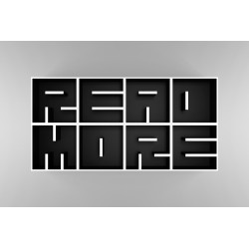 Libreria con lettere alfabeto in legno laminato ABC Read More