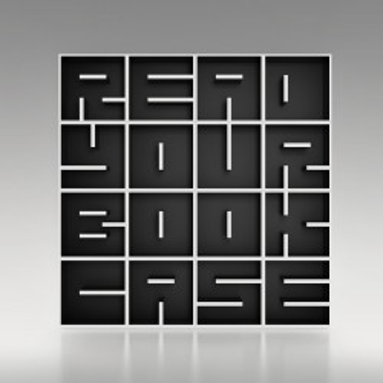Libreria da terra a forma di lettere alfabeto in legno ABC RYBC