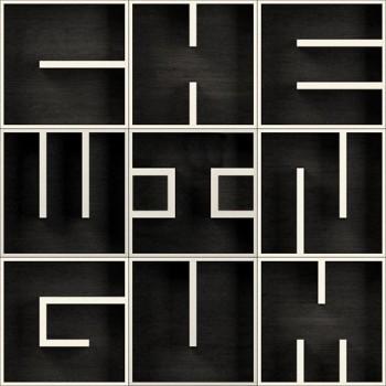 Libreria da parete con lettere alfabeto in legno ABC ChewinGum