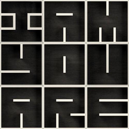 ABC I AM YOU ARE libreria modulare cubi in legno da parete