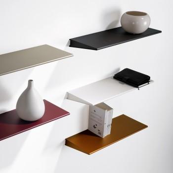 Mensole moderne design in legno metallo o vetro da parete - Librerie ...