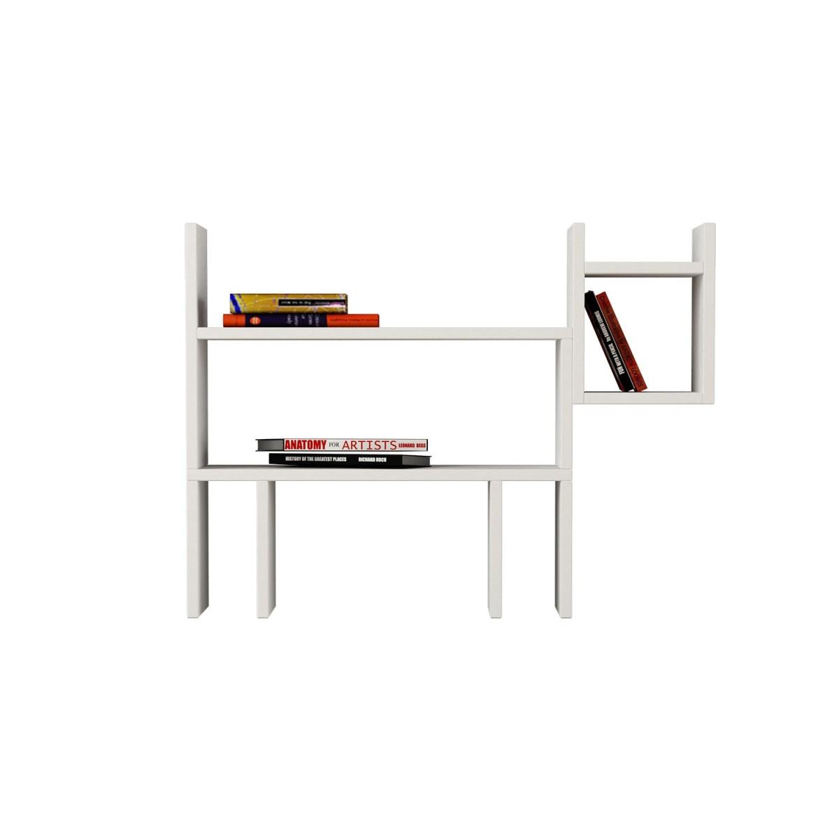 Beagle libreria mensola da parete design moderno lunghezza for Oggetti da parete design