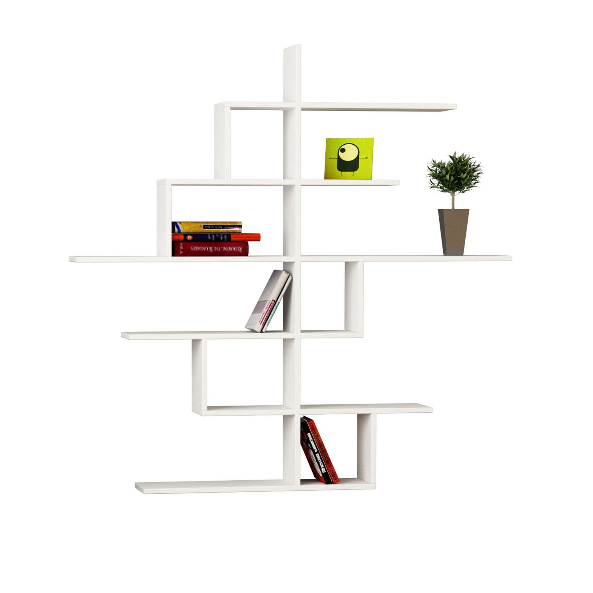 Libreria da parete design wj85 regardsdefemmes for Libreria a muro bianca