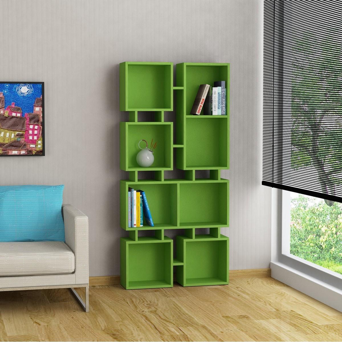 Free johnny libreria a muro in legno a cubi per soggiorno for Libreria a muro bianca