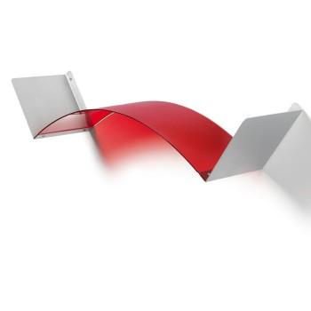 Mensola flessibile componibile in metacrilato 75 cm Flexa