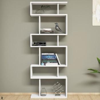 Floyd libreria verticale a giorno design moderno 60 x 150 cm