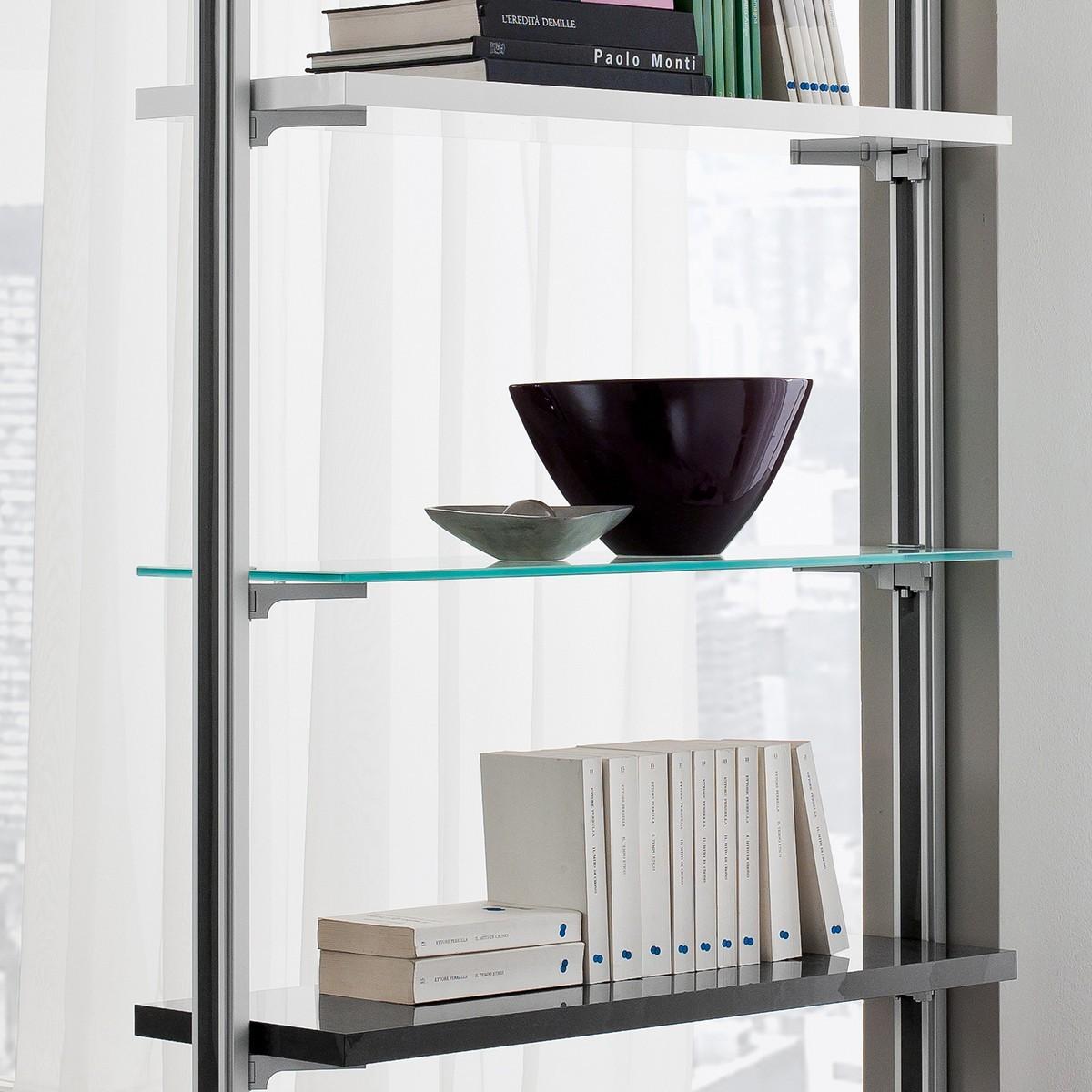 Libreria Bifacciale : Libreria bifacciale per dividere ambienti cm kennedy