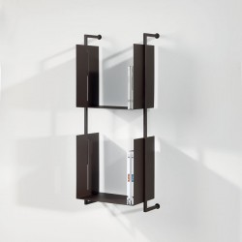 Libreria da parete sospesa design moderno in metallo Libra 94-35-2