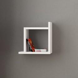 Jarko mensola libreria cubo a muro in melaminico 18 mm