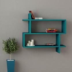 Benoit mensola libreria a muro in melaminico 18 mm design moderno