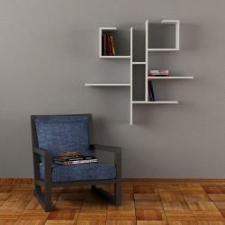 Freddie mensola libreria a parete in melaminico 18 mm design moderno