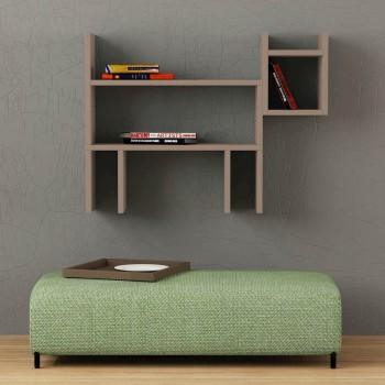 Beagle libreria mensola da parete design moderno lunghezza 80 cm