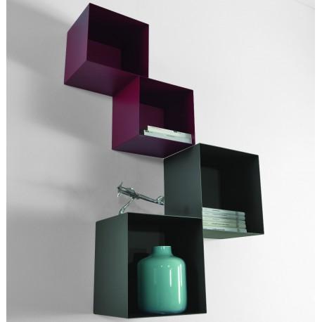 Cubi libreria componibile da parete design moderno Twin