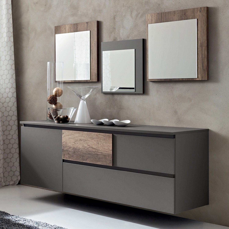 Madia moderna per soggiorno o cucina design henri - Madia moderna ikea ...