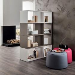 Libreria bifacciale per dividere ambienti design moderno Benjamin