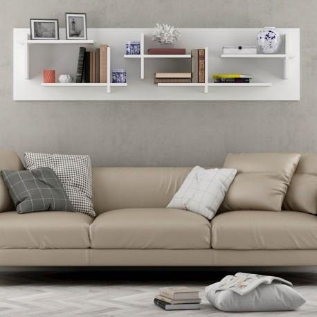 Mensola sopra divano per arredo soggiorno Filip