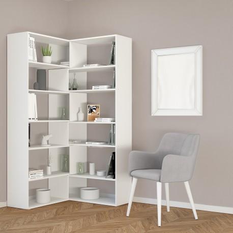 Libreria Angolare Moderna.Libreria Angolare Design Moderno Foldy