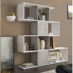 Libreria a giorno moderna in legno Suldania
