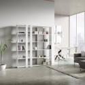 Libreria a muro design moderno Inedditah C
