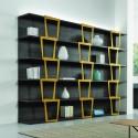 Libreria a giorno design moderno Trapezio