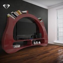 Libreria da parete soggiorno My Space ZAD Italy