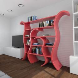 Scaffale libreria moderno Tulip ZAD Italy
