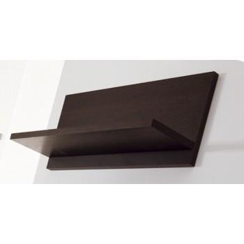 Mensola da parete in legno Wenge' Bianco Arancio Verde Tibor 60