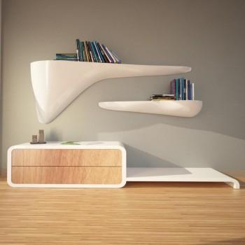 Mensole design da parete Cloudy ZAD Italy
