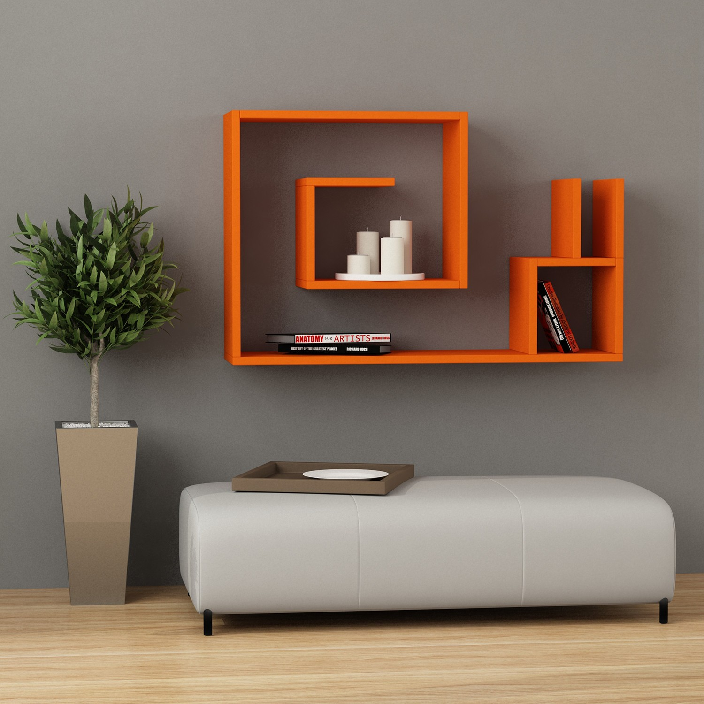 Mensole Da Muro Design.Come Aggiungere Colore E Stile Alle Pareti Della Casa Con Una