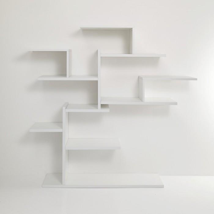 Librerie ad albero 7 modelli a parete dal design mozzafiato for Libreria a muro bianca