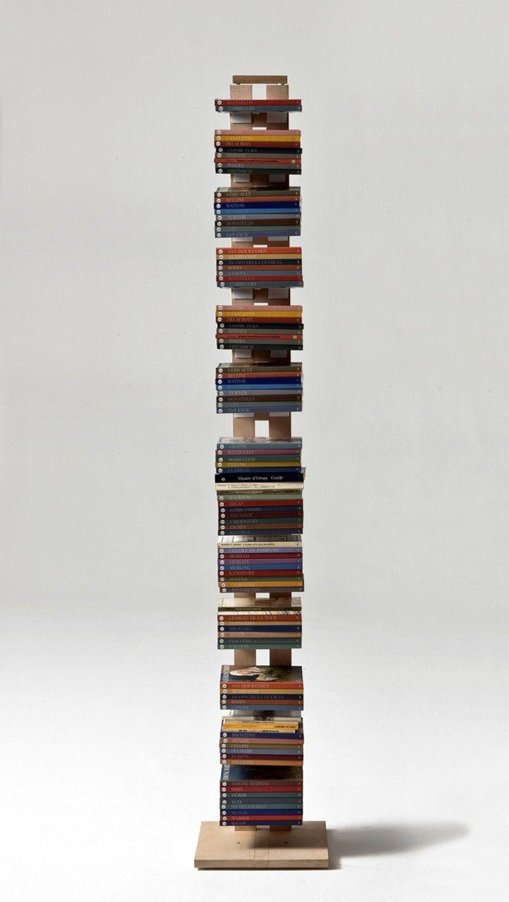 le librerie a colonna di design firmate le zie di milano